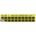 PCB Adapter MSOP Epoxy Glass Single-Sided 71.5 x 16mm FR4