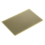 RE512-LF, Single Sided Eurocard PCB FR4 With 36 x 62 1mm Holes, 2.54 x 2.54mm Pitch, 160.01 x 100mm