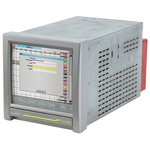 Eurotherm 6100A, 18 Channel, Paperless Chart Recorder Measures Current, Millivolt, Resistance, Voltage