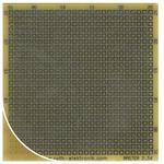 RE016-LF, Single Sided Matrix Board FR4 with 25 x 25 1mm Holes, 2.54 x 2.54mm Pitch, 68.58 x 67.94 x 1.5mm