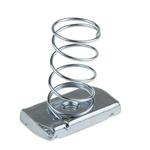 Unistrut Channel Nut, M6, Nut Base Dimensions 41 x 41mm, Steel, 0.32kg