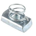 Unistrut Channel Nut, M10, Nut Base Dimensions 21 x 41mm, Steel, 0.04kg