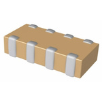 KEMET Capacitor Array 10nF 100V dc ±10% 4-way X7R Dielectric 0612 (1632M) Package CA064 Series Surface Mount