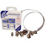 Jubilee 9 Piece Stainless Steel Worm Drive Hose Clip Kit