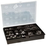 Jubilee 110 Piece A2 304 Stainless Steel P-Clip Kit