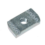 RS PRO Channel Nut, M10, Nut Base Dimensions 8 x 19mm, Zinc Plated