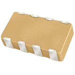 AVX Capacitor Array 10pF 100V dc ±10% 4-way C0G Dielectric 0612 (1632M) Package W3A Series Surface Mount