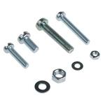 RS PRO Steel 2370 Piece Slot Drive Screw/Bolt, Nut & Washer Kit