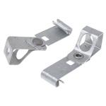 RS PRO Steel Vertical Flange, 5 → 7 mm, M8