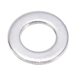 Chrome Plated Steel Plain Washer, 0.8mm Thickness, M5