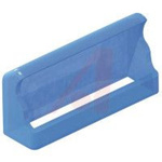 Cover, Fuse; Soft PVC; 20 mm L x 6.1 mm W x 12.7 mm H; Panel Mount