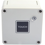 White 16 A Surface Mount Time Delay Light Switch White, 2 Way Screwed Satin, 1 Gang BS Standard, 220 → 240 V ac