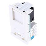 MK Electric White Telephone Socket