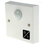 White 10 (Incandescent) A, 3 (Compact Fluorescent) A, 6 (Fluorescent) A Flush Mount Light Switch White, 1 Way Screwed