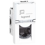 Legrand White Telephone Socket