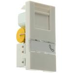 MK Electric Telephone Socket 1