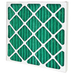 Camfil AeroPleat Eco Pleated Panel Filter, Cotton, Synthetic Fibre Media, G4 Grade, 592 x 592 x 48mm, Media Area 1.1m²
