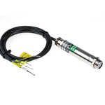 Calex PC21MT-3 Type J Thermocouple Output Infrared Temperature Sensor, 1m Cable, 0°C to +250°C