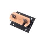 WJ Furse Copper Lightning Earth Bar L. 125mm x W. 90mm x H. 90mm