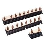 WJ Furse Copper Lightning Earth Bar L. 400mm 6 Ways