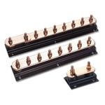 WJ Furse Copper Lightning Earth Bar L. 500mm x W. 90mm x H. 90mm 8 Ways