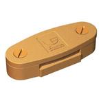 WJ Furse Aluminium Alloy, Copper Tape Clip Max. Conductor Size 25 x 3mm