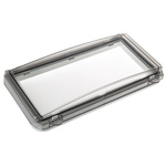 Fibox 248 x 26 x 128mm Inspection Window for use with 12 Module Enclosure