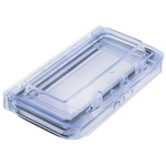 Fibox 130 x 16 x 77mm Inspection Window for use with 6 Module Enclosure