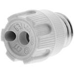 ETI 63A 1 Pole D02 Bottle Fuse Holder Screw Cap, 400V ac