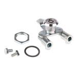 Steinbach & Vollman Panel to Tongue Depth 18mm Steel Zinc Three Point Lock, Key to unlock