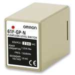 Omron Conductive Level Controller - DIN Rail Mount, 230 V ac 1