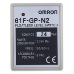 Omron Conductive Level Controller - DIN Rail Mount, 24 V ac 1
