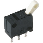 Omron Micro Switch, SPDT, 100 mA @ 30 V dc, Silver Plated