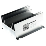 Panel Mount Solid State Relay Heatsink for use with 1 or 2 single or dual SSR