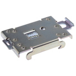 DIN Rail Solid State Relay Heatsink for use with 1 x single or dual SSR