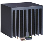DIN Rail Solid State Relay Heatsink for use with 1 or 2 single or dual SSR