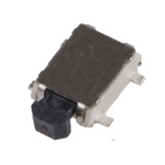 TE Connectivity Tact Switch, SPST-NO, 50 mA @ 12 V dc, Silver over Nickel