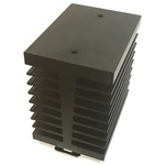 DIN Rail Solid State Relay Heatsink for use with Single Phase SSR