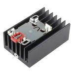 Snap-On Rail Mount Solid State Relay Heatsink for use with WG Series Solid State Relays