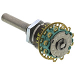 NSF My shorting, 12 Position SP12T Rotary Switch, 1.5 A, Solder