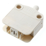 SPST-NC Push Button Switch, 16 A @ 250 V ac