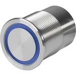 Illuminated Piezo Switch, , IK02, IP67, IP69K, 100 mA, Single Pole Double Throw (SPDT), -40 → +85°C