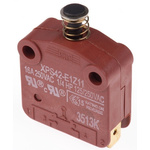 Single Pole Single Throw (SPST) Door Interlock Push Button Switch, 16 A @ 250 V ac
