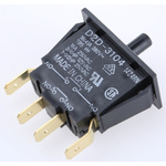 Door Interlock Micro Switch Plunger, DPDT-NO 16 A @ 250 V ac, -25 → +85°C