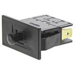 Door Interlock Micro Switch Plunger, SPDT-NO/NC 16 A @ 250 V ac, -25 → +85°C