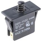 Door Interlock Micro Switch Plunger, SP-NO/NC 16 A @ 250 V ac, -25 → +85°C