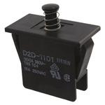 Door Interlock Micro Switch Plunger, SP-NO 16 A @ 250 V ac, -25 → +85°C