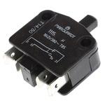 Single Pole Double Throw (SPDT) Door Interlock Push Button Switch, 16 A @ 380 V ac