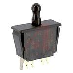 Door Interlock Micro Switch Plunger, DPDT 10 A PET, -37 → +82°C