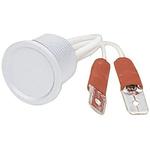Natural Aluminium Faston Push Button Switch, , IP67, IP69K, 100 mA, Free Polarity, -40 → +85°C